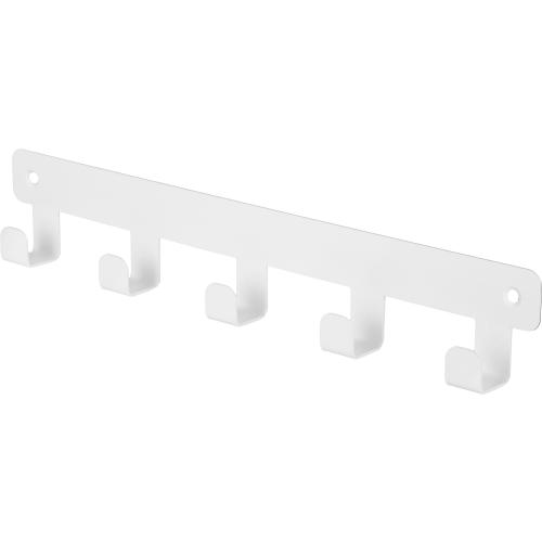 Планка Ferro 5 крючков цвет белый