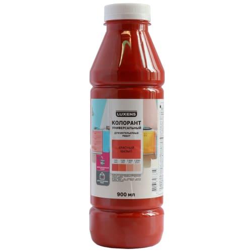 Колорант Luxens 0.9 л цвет красный