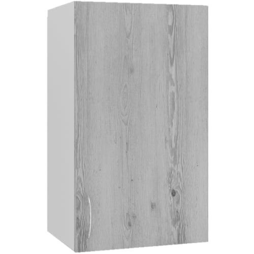 """Шкаф навесной """"Сосна выбеленная"""" 40x67.6x29 см, МДФ, цвет выбеленная сосна"""