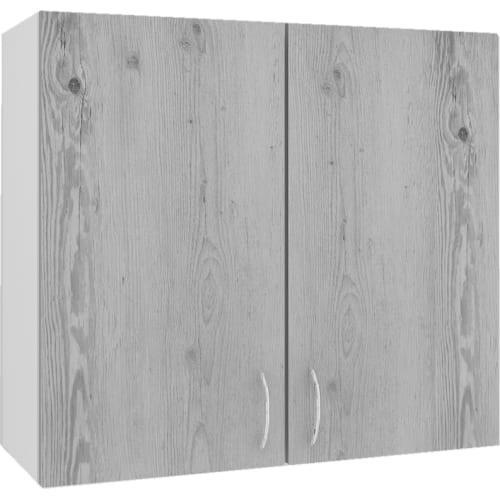 """Шкаф навесной """"Сосна выбеленная"""" 80x67.6x29 см, МДФ, цвет сосна выбеленная"""