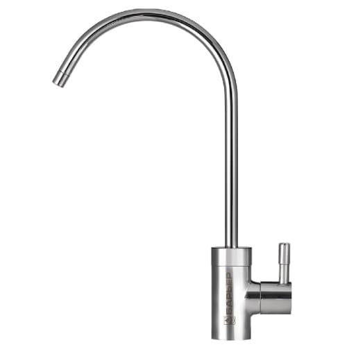 Кран для чистой воды Барьер, цвет серебристый