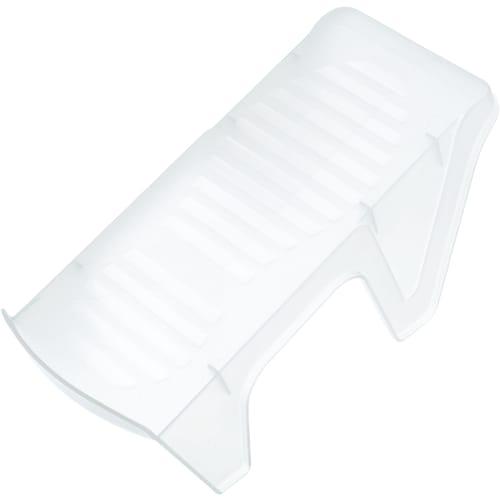 Подставка для компактного хранения обуви 24,5х11,5х14 см, пластик, цвет белый