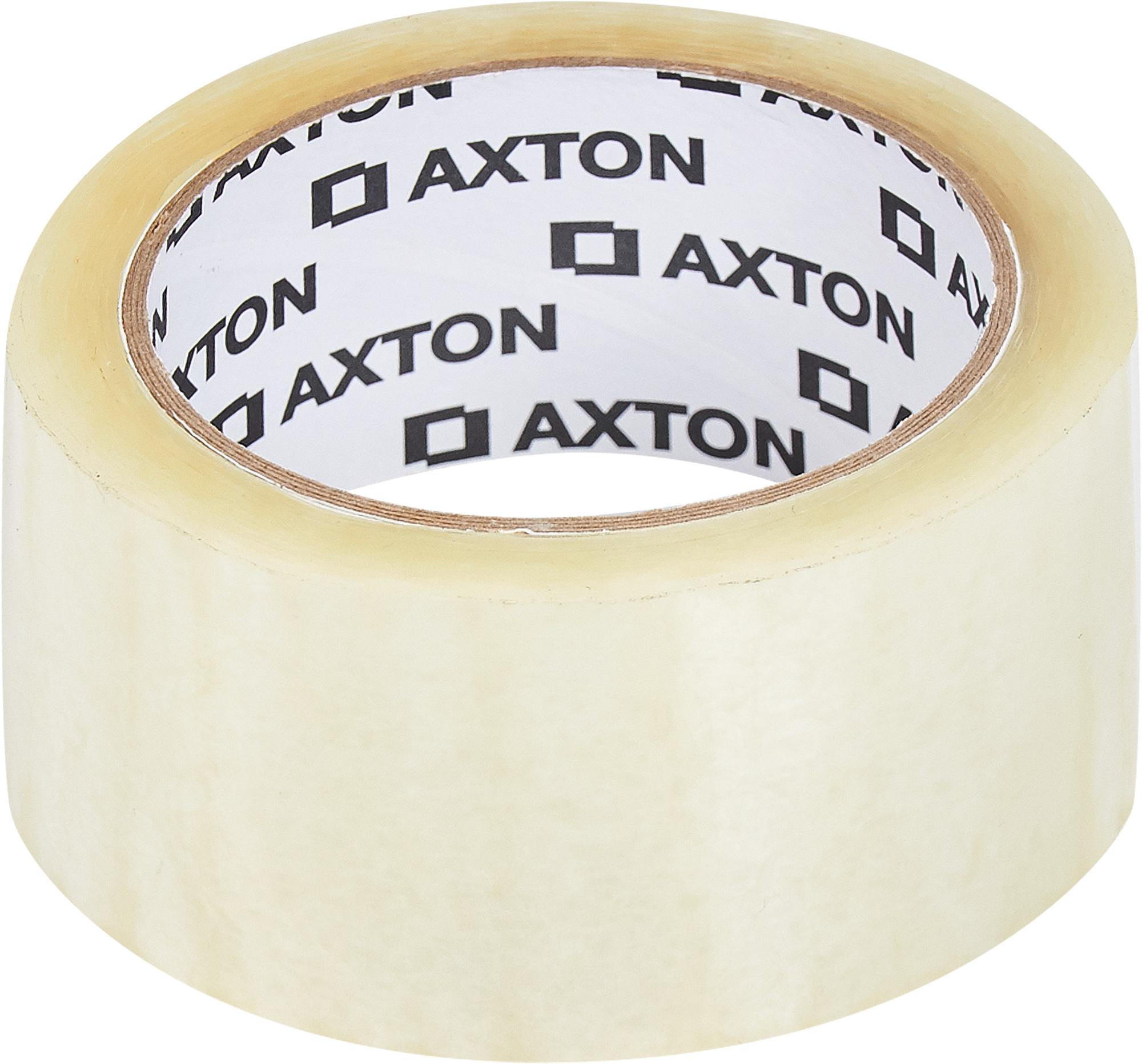 Лента клейкая упаковочная Axton 48 мм x 66 м прозрачная