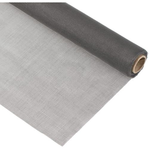 Москитная сетка 120x300 см цвет серый