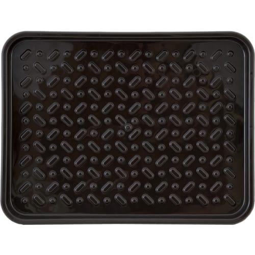 Лоток для обуви, 48x37 см, полипропилен, цвет тёмно-коричневый