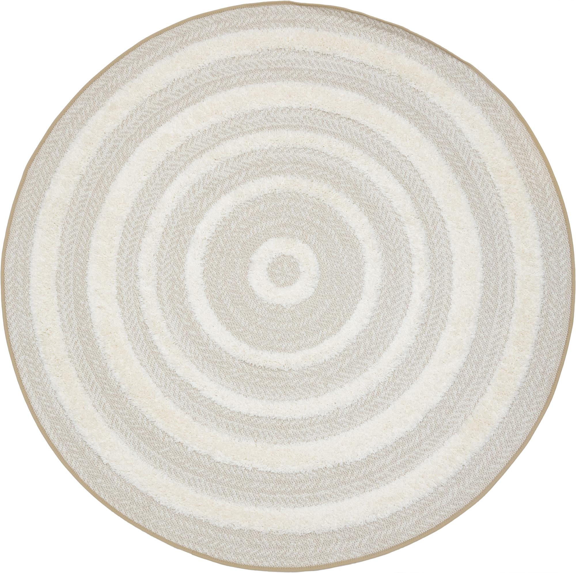 Ковер полипропилен Richie 15513/653 160x160 см круг