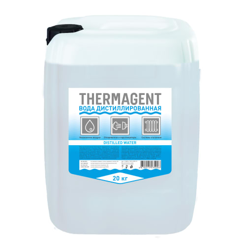 Вода дистиллированная Thermagent, 20 л