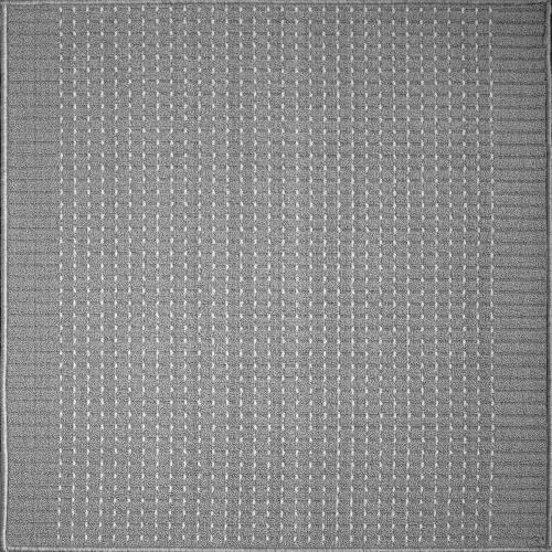 Дорожка ковровая «Пойнт», 1 м, цвет серый