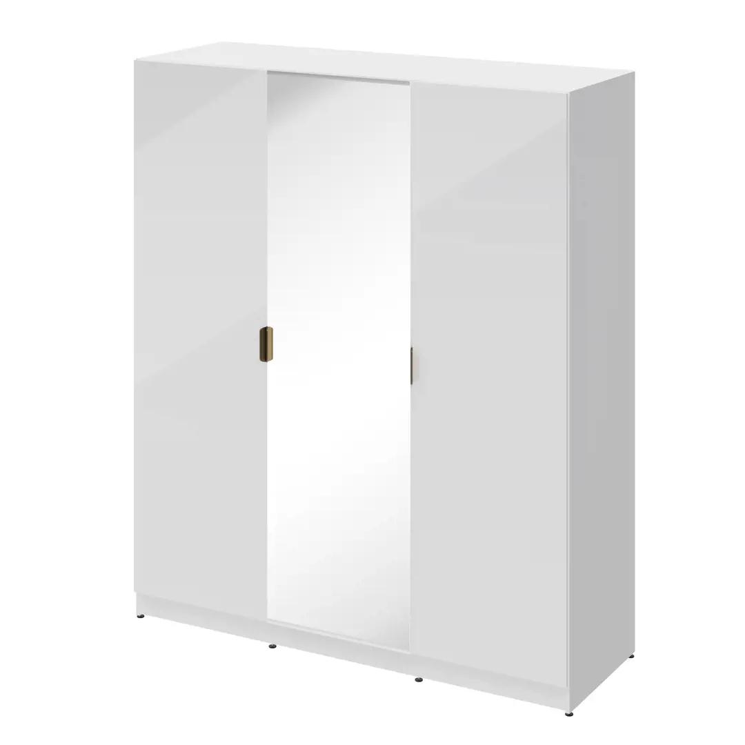 Шкаф распашной Турин 3720 180x213x59.7 см, ЛДСП, цвет белый