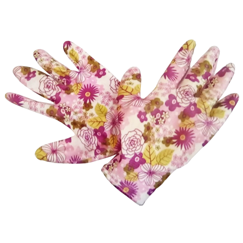 Перчатки садовые GARDEN FLOWERS GF-PN-08S размер S