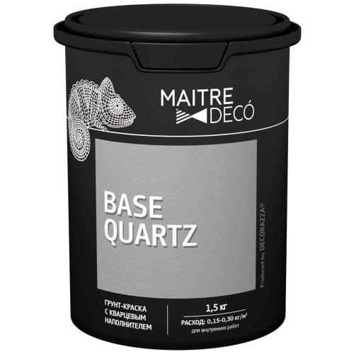 Грунт-краска Maitre Deco «Base Quartz» 1.5 кг