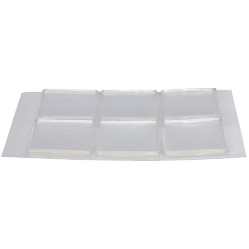 Квадраты для многоразового монтажа SmartFix 3х3 см, 12 шт.