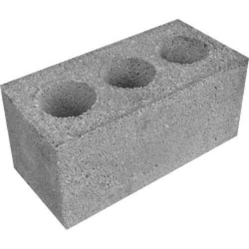 Блок керамзитобетонный 390х190х190 мм