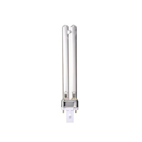 Лампа люминесцентная УФ бактерицидная Uniel G23 230 В 9 Вт U-образная прозрачная, фиолетовый свет