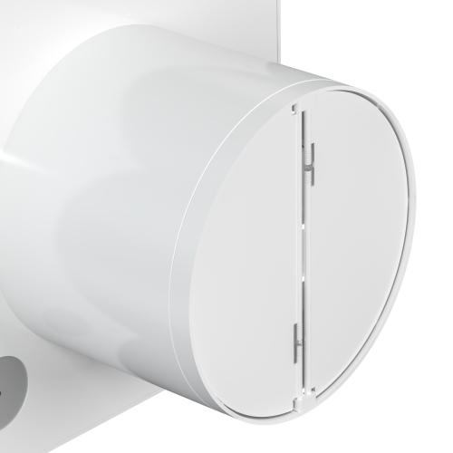 Вентилятор вытяжной Diciti Silent 4C Turbo, ø100 мм, 19 Вт, цвет белый