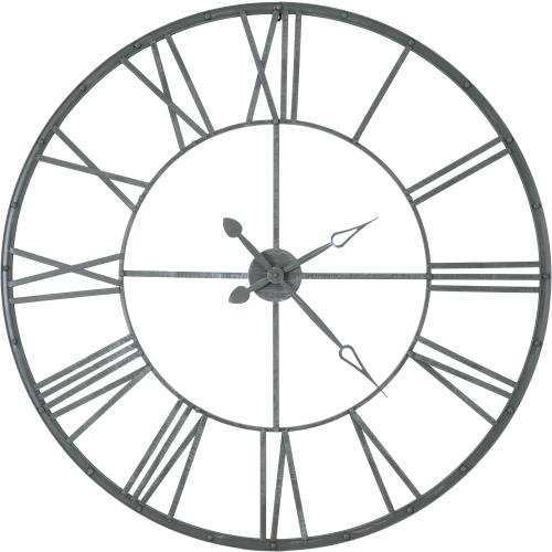 Часы настенные Atmosphera Vintage ø96.5 см, цвет серый