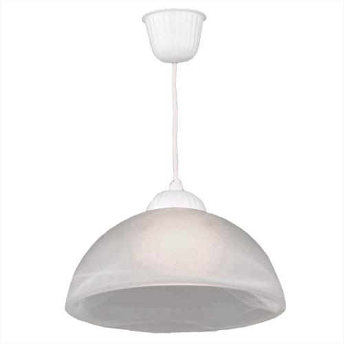 Светильник потолочный «Мальва», 1 лампа, 3 м², цвет белый