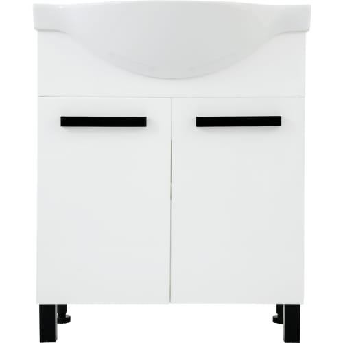 Тумба под раковину напольная «Софи» 70 см цвет белый
