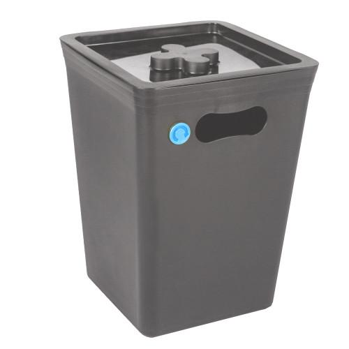 Контейнера для мусора Stockholm 15 л, пластик, цвет серый