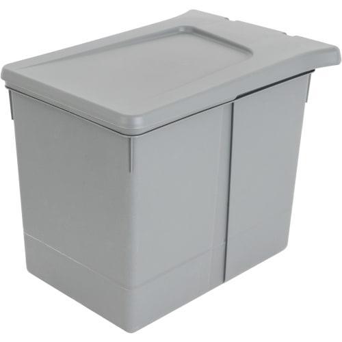Контейнер для мусора Aff навесной 15 л, пластик, цвет серый