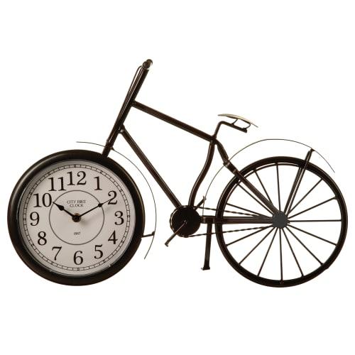 Часы настольные Atmosphera Retro Factory ø50 см, металл, цвет чёрный