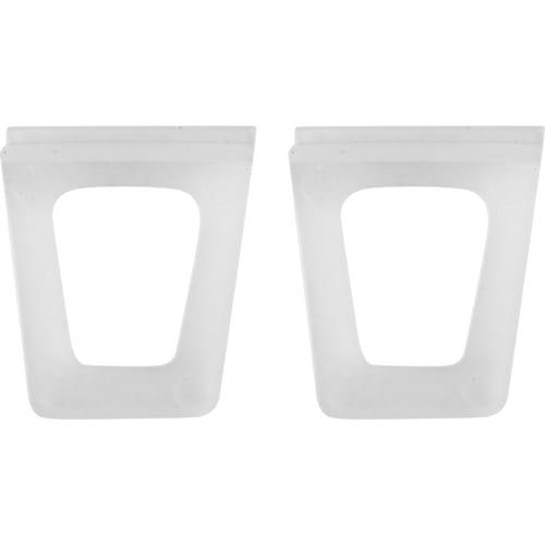 Комплект ручек для антимоскитной сетки Tech-Krep, 5x2.7 см, полиэстер прозрачный 2 шт.