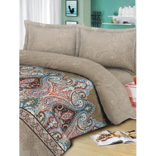 Комплект постельного белья двуспальный Текстильная лавка Гранд , микрофибра